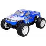 HiMOTO RC auto Monster Truck EMXT-1 elektro RTR set 2,4GHz modrá 1:10