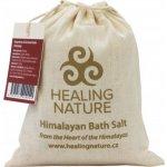 Healing Nature sůl koupelová červená hrubá z Himálaje 1 kg