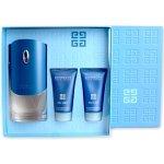 Givenchy Pour Homme Blue Label EdT 100 ml + balzám po holení 50 ml + sprchový gel 50 ml dárková sada