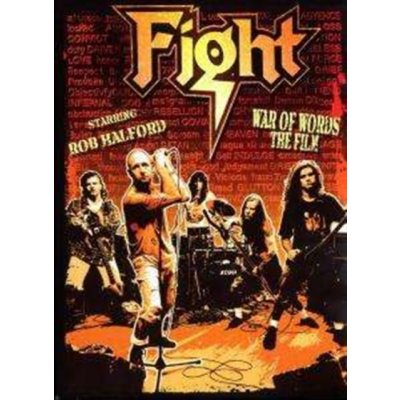 War Of Words - The Film - Ltd Edition Numbered Box - Rob Halford DVD