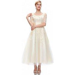 cebd334102a9 Grace Karin společenské šaty CL6051-2 ivory alternativy - Heureka.cz