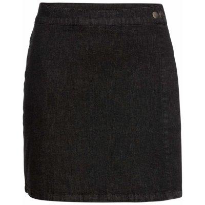 Bonprix RAINBOW riflová sukně černá