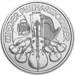 Wiener Philharmoniker Münze Österreich Stříbrná rakouská mince 1 Oz