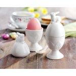 """Keramický kalíšek na vajíčko """"Zajíček"""", 2 kusy"""