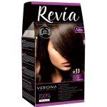 Revia 100% 3D barva na vlasy 13 tmavě hnědá