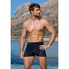 Exkluzivní pánské plavky boxerky Lorin 509 černé