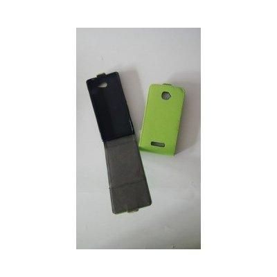 Pouzdro ForCell Slim Flip Flexi Samsung G530 G531 Galaxy Grand Prime Zelené