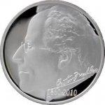 Česká mincovna Proof Stříbrná mince 200 Kč 2010 Gustav Mahler