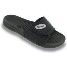 Scholl NAUTILUS černé zdravotní pantofle