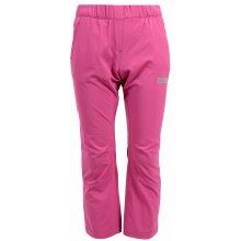 NORDBLANC LEAP NBSPK6279S Dívčí outdoorové kalhoty RŮŽOVÁ