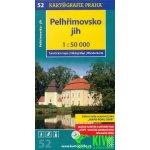 Kartografie Praha KP 52 Pelhřimovsko jih 1:50 000