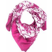 Calvin Klein růžový šátek Spray Print Magenta e405872f0d