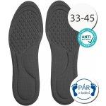 SISI NO.30221-4-Black Antibakteriální vložky do bot anatomické černá 145027ed1d