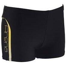 Arena FLEX SHORT černá/žlutá pánské s nohavičkou