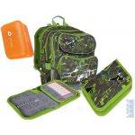 Topgal Školní batoh CHI 698 C + penál CHI 715 C + pláštěnka + pytlík na bačkory + box