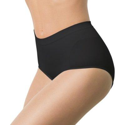Intimidea Slip Silhouette kalhotky stahovací klasického střihu bezešvé černá