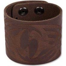 Náramek kožený BWB3 Leather Cuffs BWB3BR