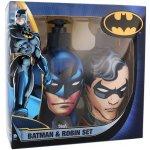 DC Comics Batman & Robin šampon & kondicionér 2v1 Batman 300 ml + sprchový gel Robin 300 ml dárková sada