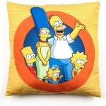 Jerry Fabrics Polštář Simpsons family polyester 40x40