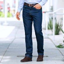 629d995988e1 Blancheporte džíny s elastickým pasem modrá