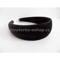 Čelenka do vlasů sametová černá alternativy - Heureka.cz 1a299f8369