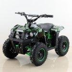 Cam Dětská elektrická čtyřkolka Tiger 1000W Green