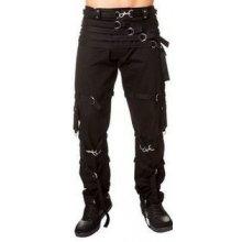 Gotické kalhoty pánské s pásky
