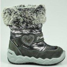 Primigi Dívčí zimní boty - šedé 11f39ef2cd