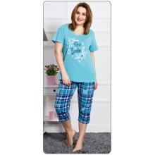 321e93d2f Vienetta Secret Rose garden dámské pyžamo kapri tyrkysová