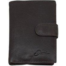cbad84d0db2 Diesel Pánská kožená peněženka Hnědá 18060148
