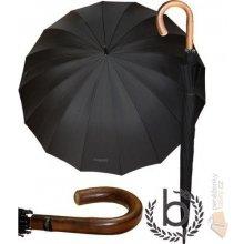 Bugatti Luxusní pánský deštník 71763001BU Doorman černý