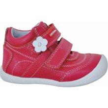 Protetika Dívčí kotníkové boty Agnes - červené 1f15c86c52
