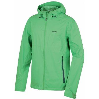 Husky Lamy pánská bunda světle zelená