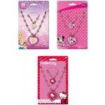 Dětská bižuterie set náhrdelník náramek Hello Kitty