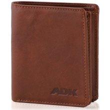 Pánská peněženka Damašek hnědá DK-079