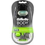 Gillette Body Razor 3, 3 ks