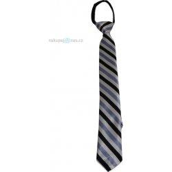 Dětská proužkovaná kravata modrá 0200f089bf