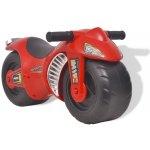vidaXL Odrážedlo motorka plastové červené