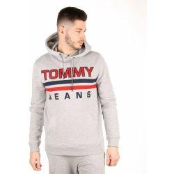 Pánská mikina Tommy Hilfiger pánská šedá mikina Essential a1b02143685