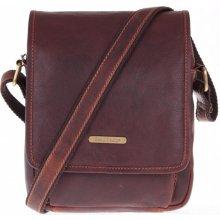 da0694dba0 Sendi Design pánská kožená taška 1101 koňakově hnědá
