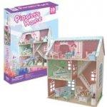 HM Studio 3D Puzzle Dollhouse Pianist's Home