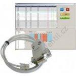 PT41-SW Software+kabel na RS232 pro systém PT41