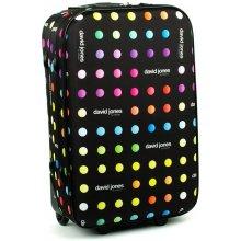 David Jones 1008 cestovní kufr malý 36x19x55 cm, barva mix