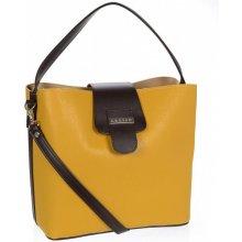 dc61d25504 Grosso sportovní dámská kabelka S740 Žlutá hořčicová