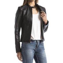 Blue Wellford dámská kožená bunda černá