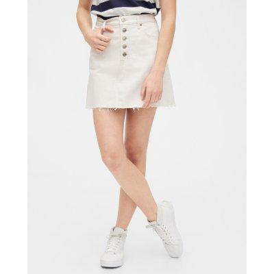 Gap sukně High Rise Denim Skirt