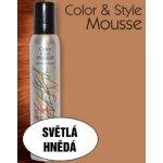Omeisan Color & Style Mousse tužidlo (světle hnědé) 200 ml