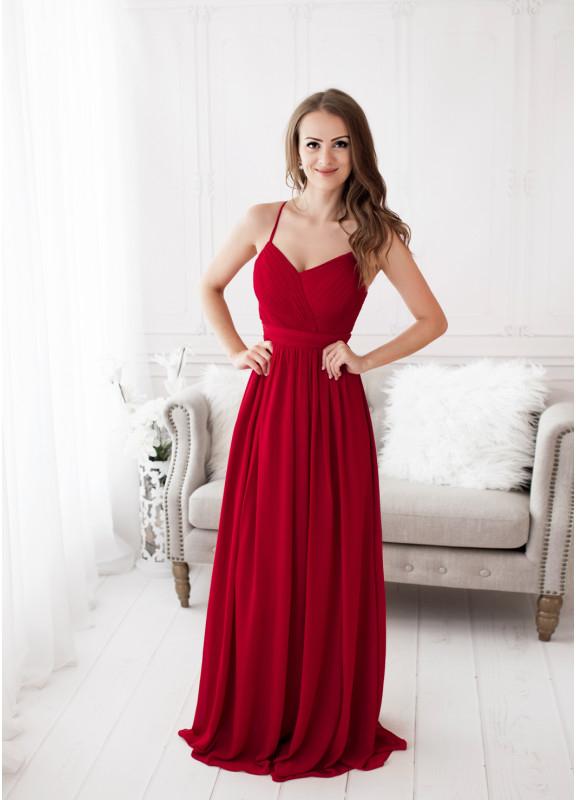 805ccd9e8d70 Plesové šaty Eva   Lola společenské plesové šaty Gabrielle červená ...