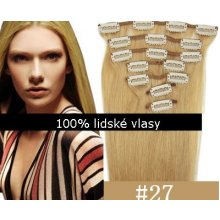 Clip-in,51cm,75g - 27 blond