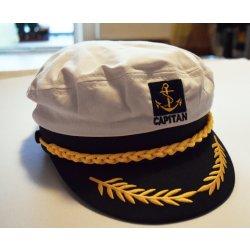 96cf078f21f Kapitán K3 dospělá kapitánská námořnická čepice